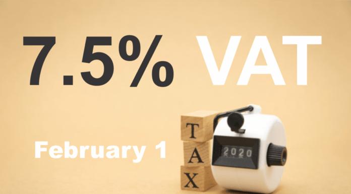 7.5% VAT FMFBNP