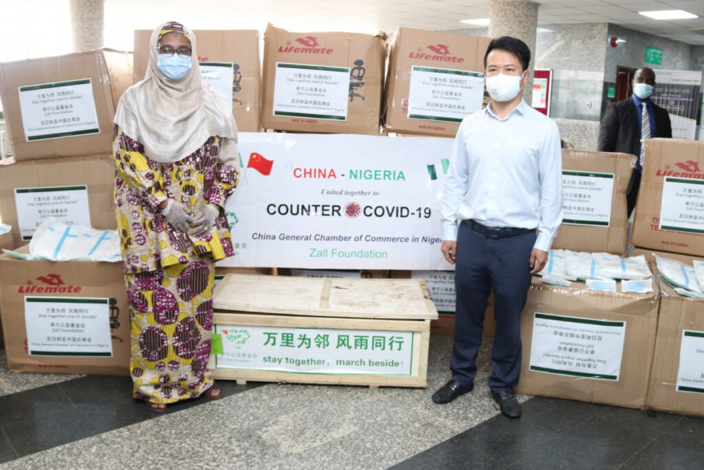 Chinese Firms Donate Covid-19 Protective Kits to Honourable Minister 5