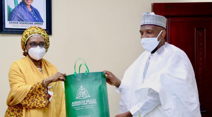 ABU Vice Chancellor visits 1 Minister of Finance